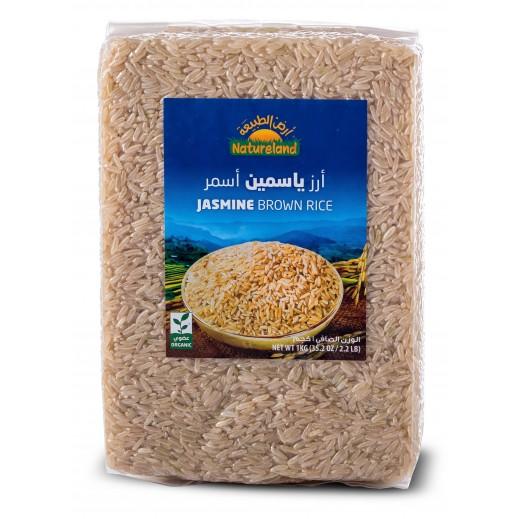 أرض الطبيعة – أرز بسمتي أحمر عضوي 1 كجم