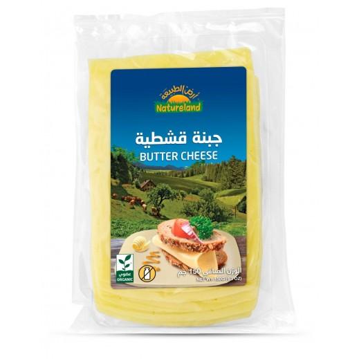 أرض الطبيعة – الجبنة القشطية العضوية 150 جم