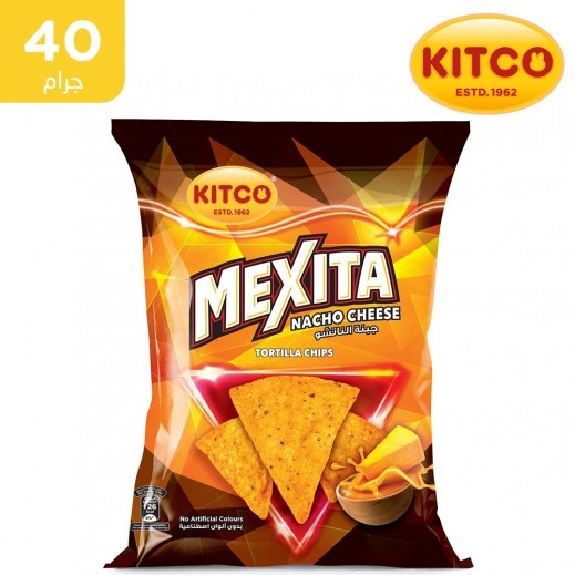 كيتكو – مكسيتا تورتيلا شيبس بنكهة الجبنة الناتشو 40 جم