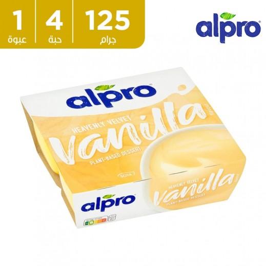 ألبرو – حلوى صويا فانيلا 4 × 125 جم