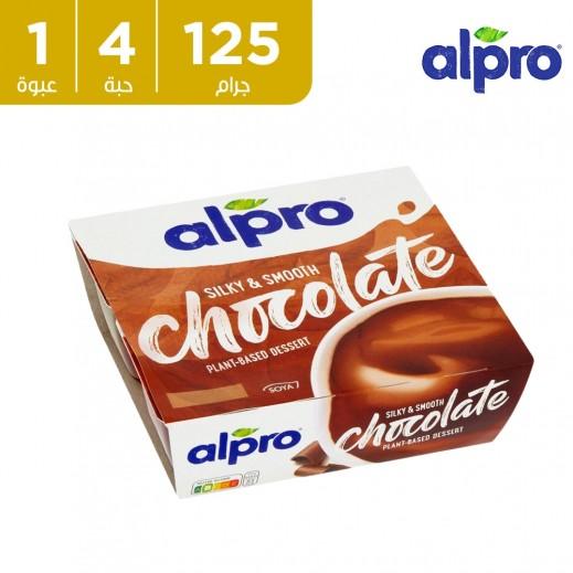 ألبرو – حلوى صويا شوكولاته 4 × 125 جم