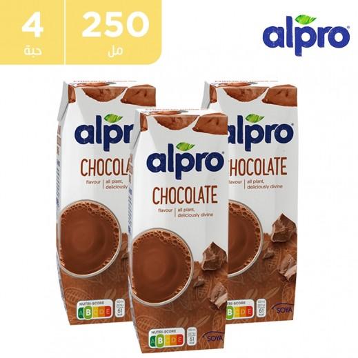 ألبرو – مشروب الصويا شوكولاته 4 × 250 مل