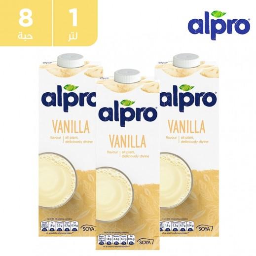 ألبرو – مشروب الصويا بالفانيلا 8 × 1 لتر