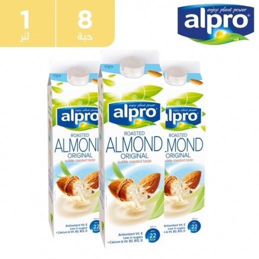 ألبرو – حليب اللوز الأصلي 8 × 1 لتر