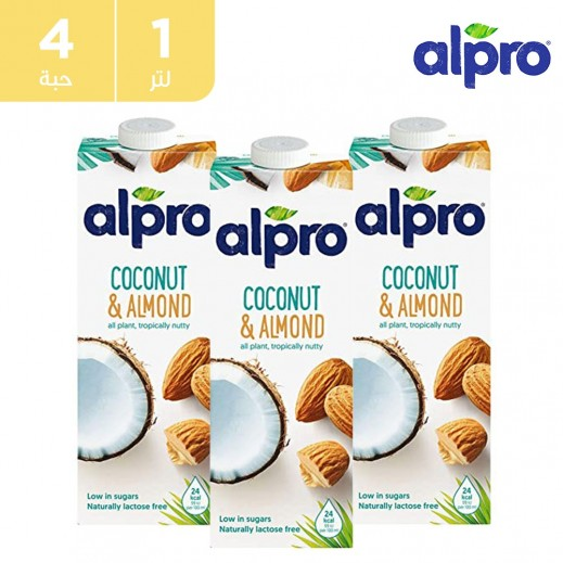 ألبرو – شراب جوز الهند واللوز 1 لتر (4 حبة)