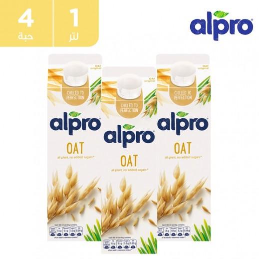 ألبرو – شراب الشوفان الاصلي 1 لتر (4 حبة)