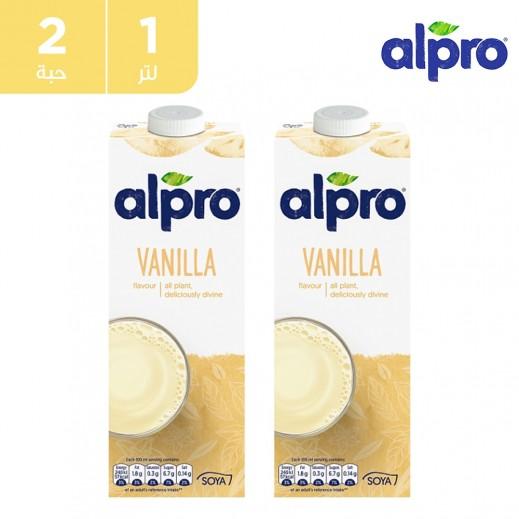 ألبرو – مشروب صويا فانيلا 2 × 1 لتر