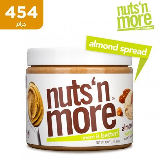 نتس آند مور - زبدة الفول السوداني باللوز عالية البروتين 454 جم
