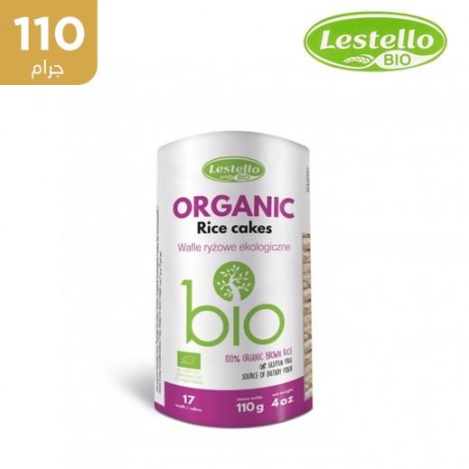 ليستلو– كعك الأرز بيو عضوية وخالية من الغلوتين 130 جم