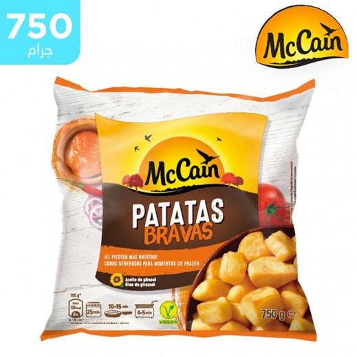 ماكين – بطاطا باتاتاس برافاس نباتية مجمدة 750 جم