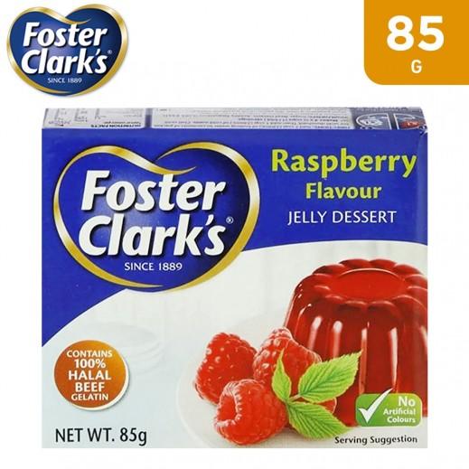 فوستر كلارك جيلي بنكهة توت بري أحمر 85 جم