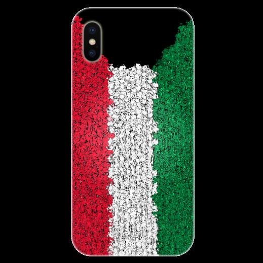 غطاء للهاتف مع تصميم مخصص لعلم دولة الكويت الجديد - الإصدار2 - يتم التوصيل بواسطة Berwaz.com