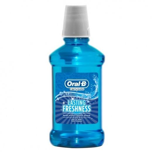 أورال بي – غسول الفم كومبليت اكتيك بالنعناع 250 مل