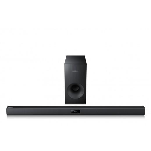 سامسونج – نظام صوتي لاسلكي 2.1 قناة 120 واط - اسود