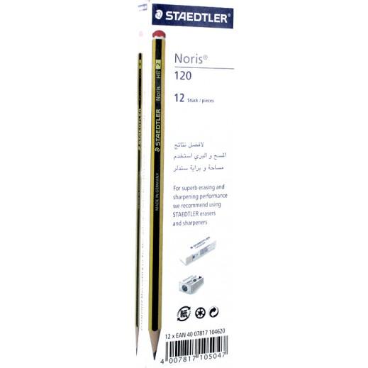 ستيدلر – أقلام رصاص 2HB - عبوة 12 حبة