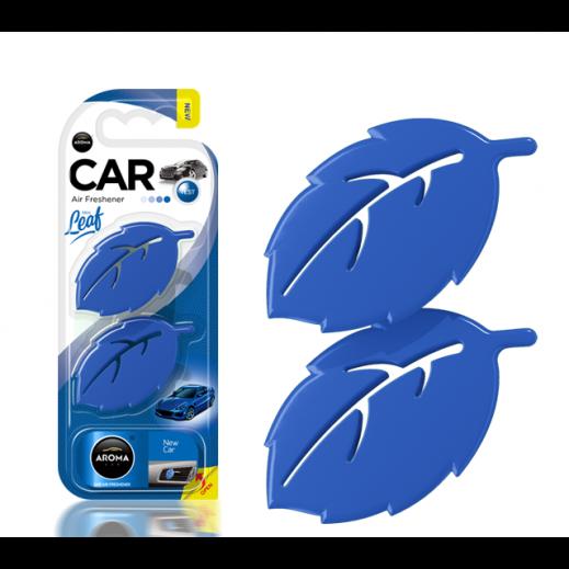 أروما – معطر السيارة ورقة شجر 3D – السيارة الجديدة