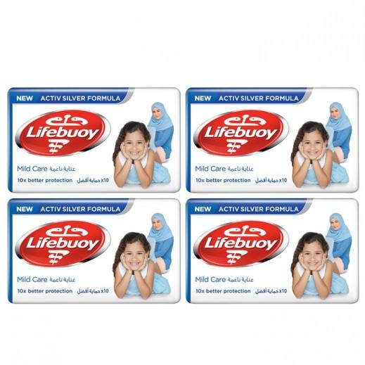 لايفبوي - صابون العناية الناعمة 4 × 125 جم