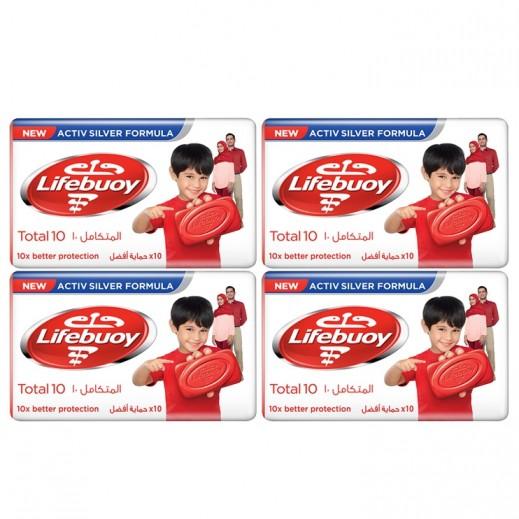 لايفبوي - صابون المتكامل 10 - 4 × 160 جم