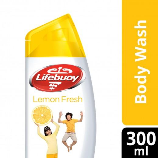 لايفبوي - غسول الجسم انتعاش الليمون 300 مل