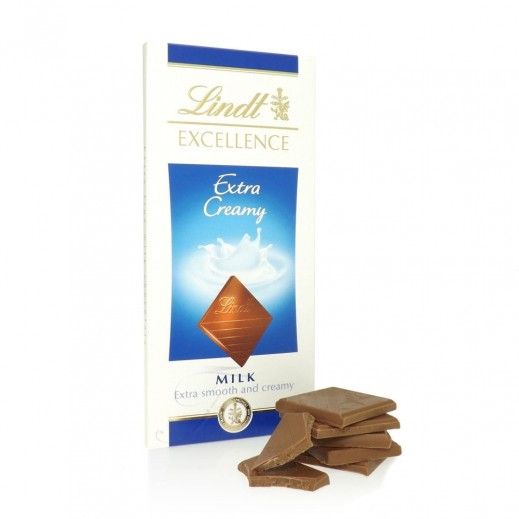 Lindt Excellence Extra Milk 100g