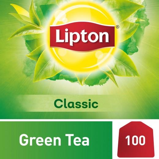 ليبتون - شاي أخضر كلاسيك 100 كيس