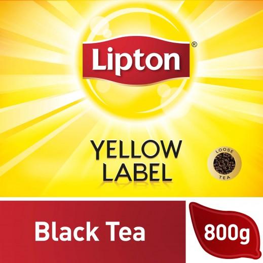 ليبتون - شاي أسود العلامة الصفراء 800 جم