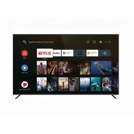 JVC - تلفزيون ذكى 65 بوصة - 4K بتقنية QLED - يتم التوصيل بواسطة Smart Stores