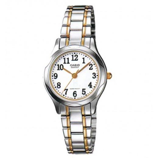 كاسيو - ساعة يد للسيدات استانلس استيل بعقارب     - يتم التوصيل بواسطة Veerup General Trading
