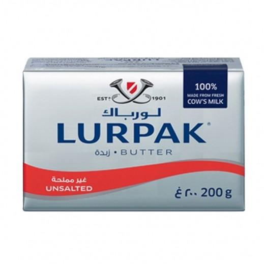لورباك - زبدة غير مملحة 200 جم