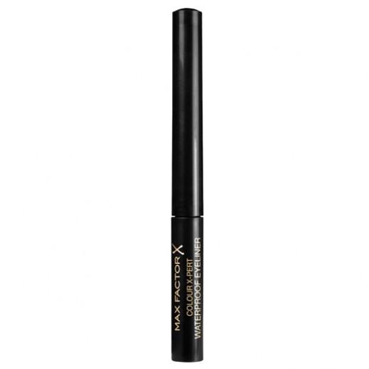 ماكس فاكتور- قلم تحديد العيون مقاوم للماء Color Expert ( رقم 01) لون أسود مركز