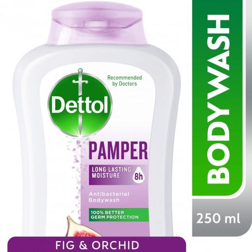 ديتول – غسول مرطب للجسم بالتين وزهرة الأوركيد 250 مل