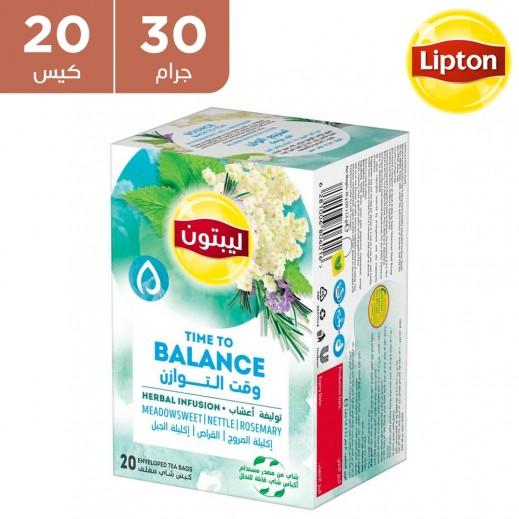 ليبتون - توليفة أعشاب وقت التوازن 20 × 30 جم