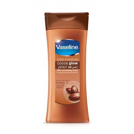 ڤازلين - لوشن الجسم إشراقة الكاكاو 400 مل