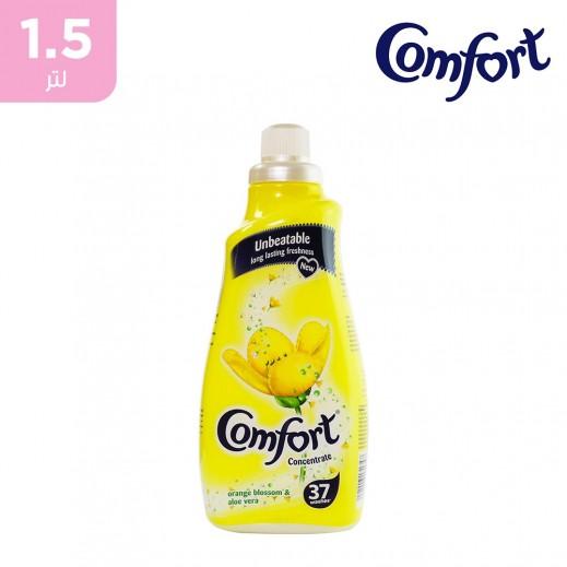 كومفورت – منعم الأقمشة المركز بعطر البرتقال والصبار - 1.5 لتر