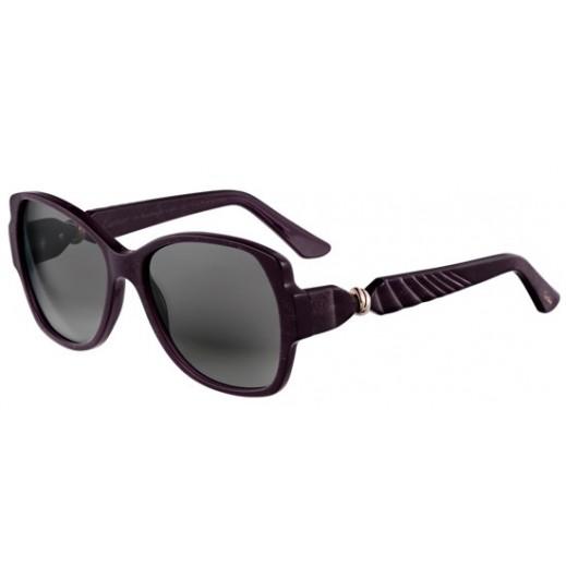 كارتير – نظارة شمسية (Trinity De Cartier) أرجواني للسيدات   - يتم التوصيل بواسطة Waleed Optics