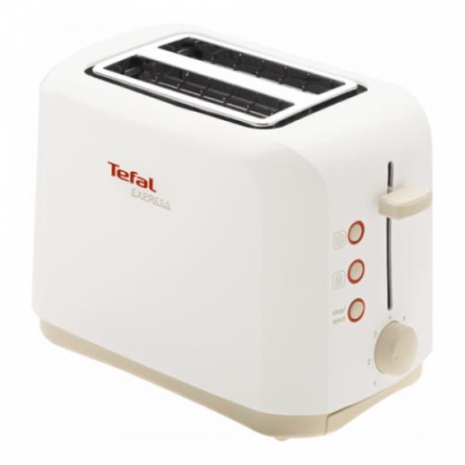 تيفال - محمصة الخبز الكهربائية اكسبرس 2 شريحة، 850 واط، – أبيض