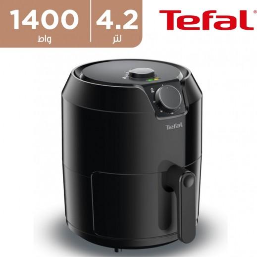 تيفال - قلاية هوائية 1,400 واط 4.2 لتر - اسود