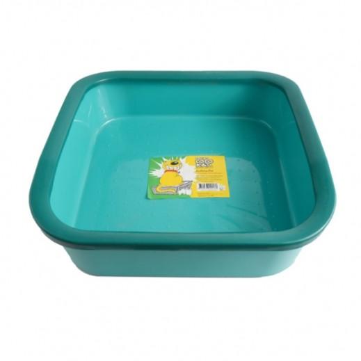 كوكوكات – وعاء كبير بلاستيك لتراب فضلات القطط  ألوان مختلفة