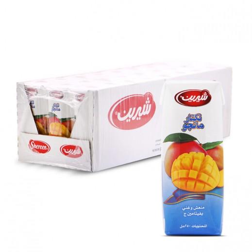 شيرين - عصير المانجو نكتار 250 مل ( 24 حبة )