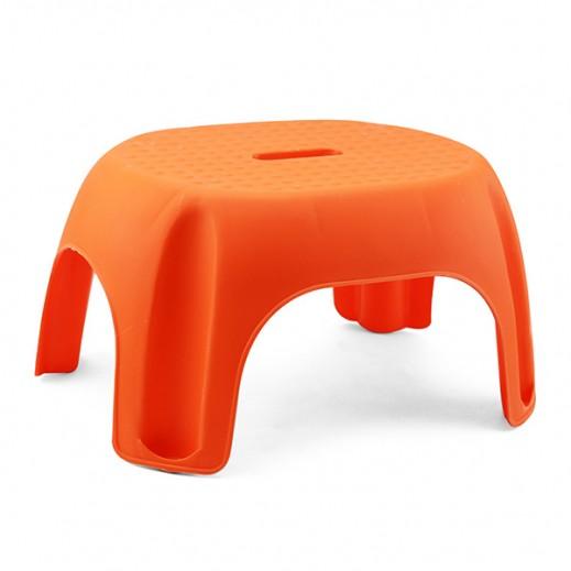 كرسي  بلاستيكي صغير (965) – برتقالي