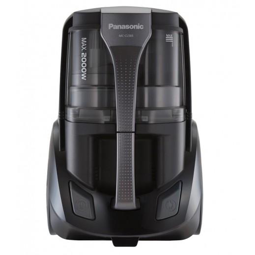 باناسونيك – مكنسة كهربائية بدون كيس أتربة 2000 واط 2 لت-– أسود - يتم التوصيل بواسطة EASA HUSSAIN AL YOUSIFI & SONS COMPANY