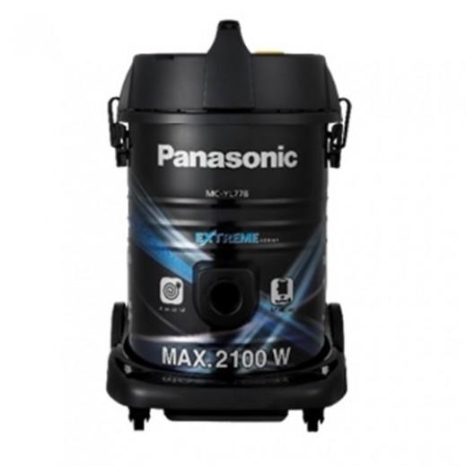 باناسونيك – مكنسة كهربائية درام  2100 واط سعة 18 لتر – أسود - يتم التوصيل بواسطة  AL-YOUSIFI  بعد 3 ايام عمل