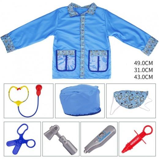 ملابس طبيب الحيوانات الأليفة للأطفال مقاس موحد - 3 سنوات فأكثر
