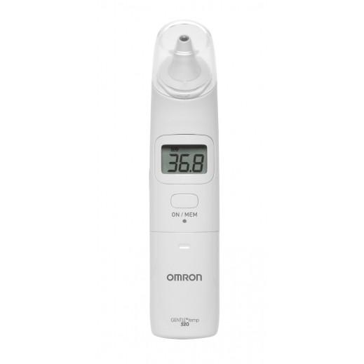 أومرون – ترمومتر قياس درجة الحرارة الرقمي من الأذن موديل MC-520-E