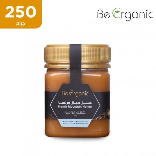 بي اورجانيك – عسل جبلي فرنسي خام غير مبستر 250 جم