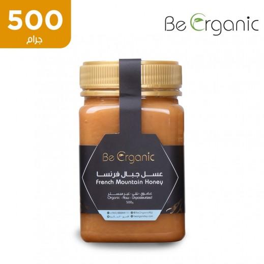 بي اورجانيك – عسل جبلي فرنسي خام غير مبستر 500 جم
