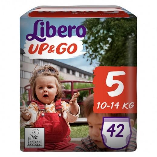 """ليبرو –  كلوت الأطفال """" أب أند جو """" المرحلة 5 ( 10 – 14 كجم ) – 42 حبة"""