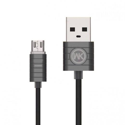 دبليو كي ديزاين - كيبل Micro USB بطول 1 متر - برونزي