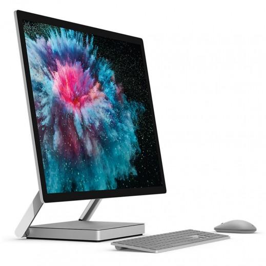 مايكروسوفت – جهاز لوحى Surface Studio 2 شاشة لمس 28 بوصة معالج Intel Core i7 ذاكرة 16 جيجابايت تخزين 2 تيرابايت  - يتم التوصيل بواسطة شركة توصيل خلال يوم العمل التالي