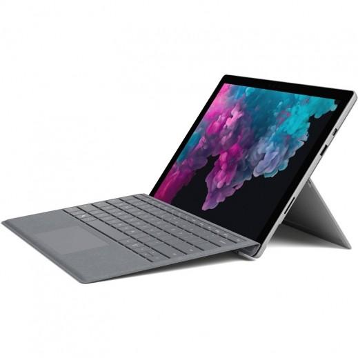مايكروسوفت – جهاز لوحي Surface Pro 6 شاشة لمس 12.3 بوصة معالج Intel Core i7 ذاكرة 16 جيجابايت تخزين 512 جيجابايت – بلاتيني - يتم التوصيل بواسطة شركة توصيل خلال يوم العمل التالي